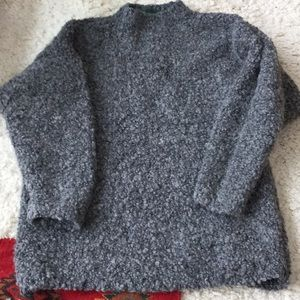 Gleneden gray sweater, M